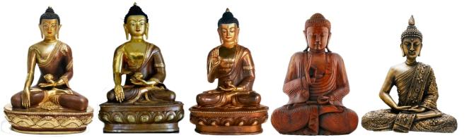 Posiciones del Buda